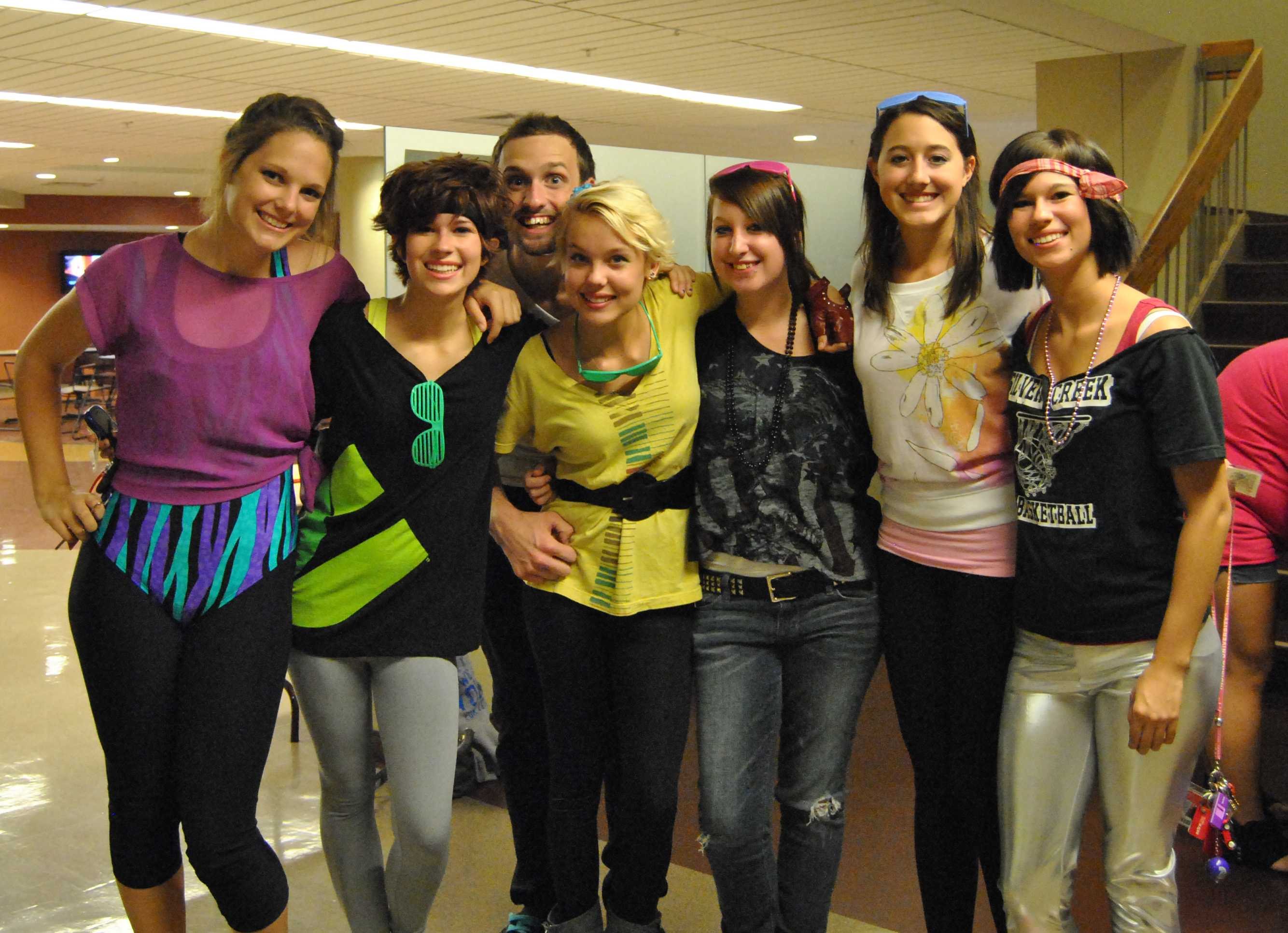 students share thrilling 80s theme party the horizon