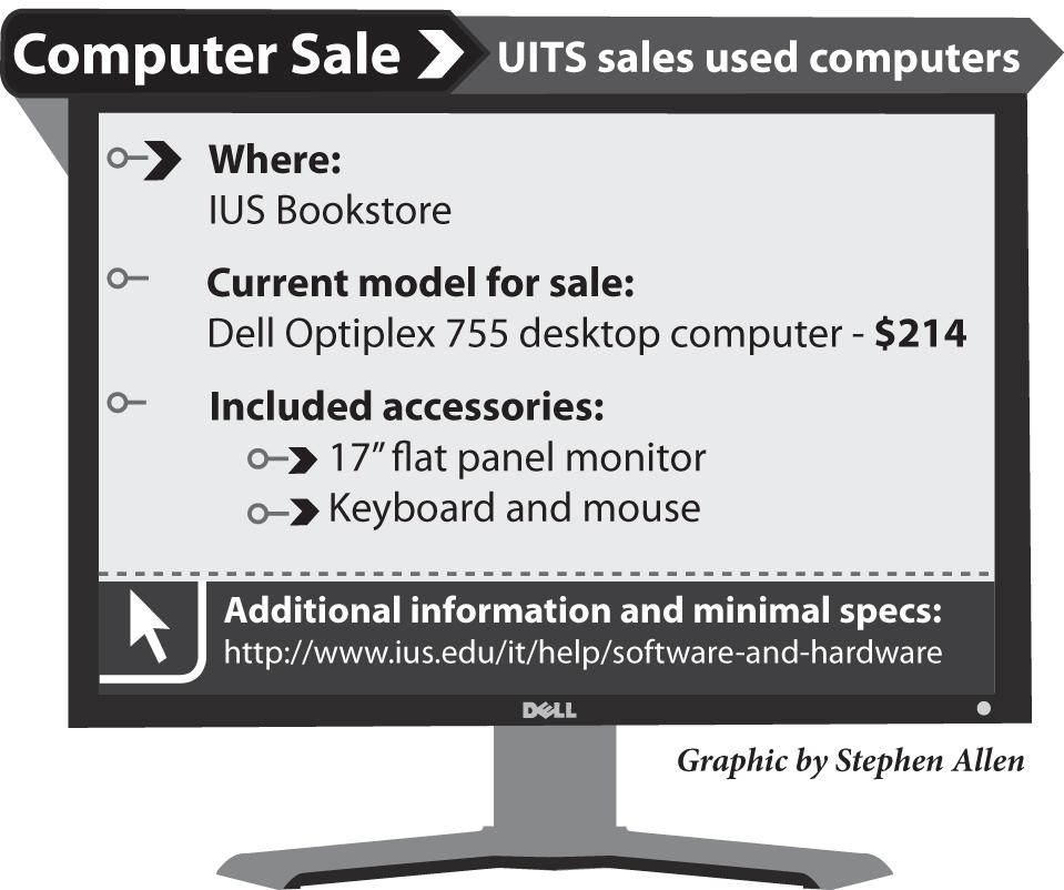 UITS sale continues for used computers – The Horizon