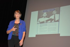 Mary Beth Tinker is No. 91 in a book that lists 101 U.S. changemakers. She made history as part of the landmark Tinker v. Des Moines Supreme Court case.