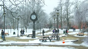 IU Southeast has had to cancel classes twice, release students early once, and delay classes three times.