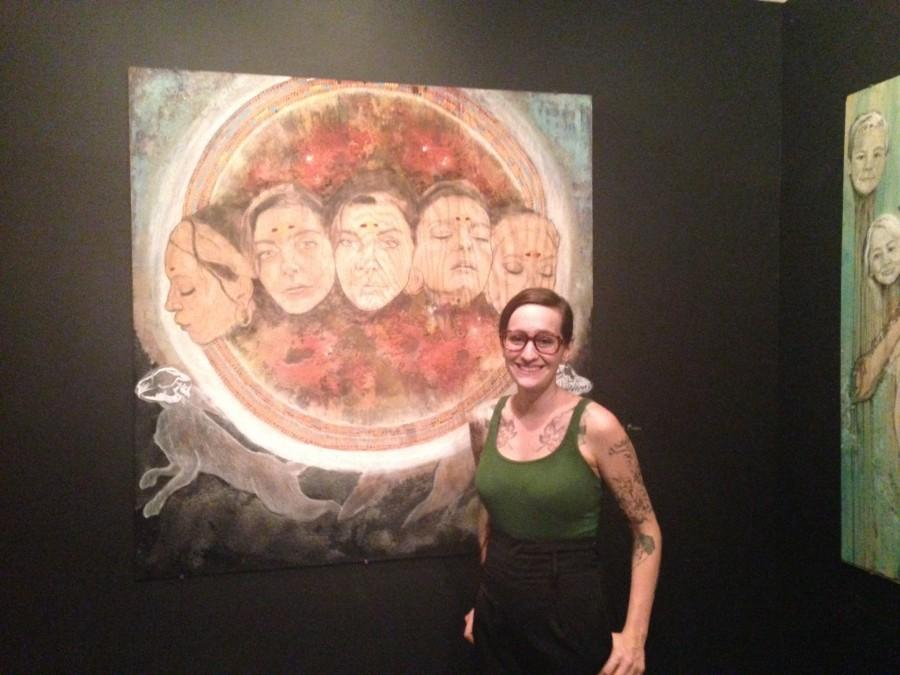 Art series explores emotions, layers of dreams
