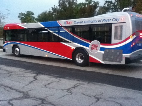"""TARC has been given a $30 million investment, $20 million of which is provided by the Ohio River Bridges Project. Up until 2017, those investments are being used to transform buses to """"commuter coaches."""