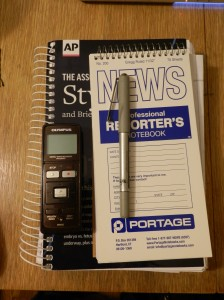 Some stuff I need to do journalism