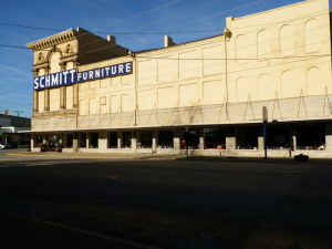 Schmitt Furniture, family owned and operated since 1936, is one of downtown New Albany's longest standing businesses.