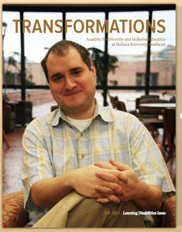 """The first issue of """"Transformations"""" was published in the Spring 2012 semester. Since then, each issue of the magazine has tackled a different diversity topic."""