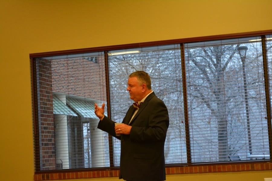 Chancellor candidate Minner hopes IUS will be his last post