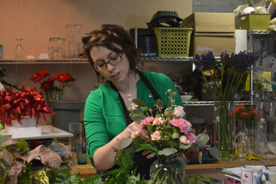 IUS alumna busy arranging Valentines Day for others