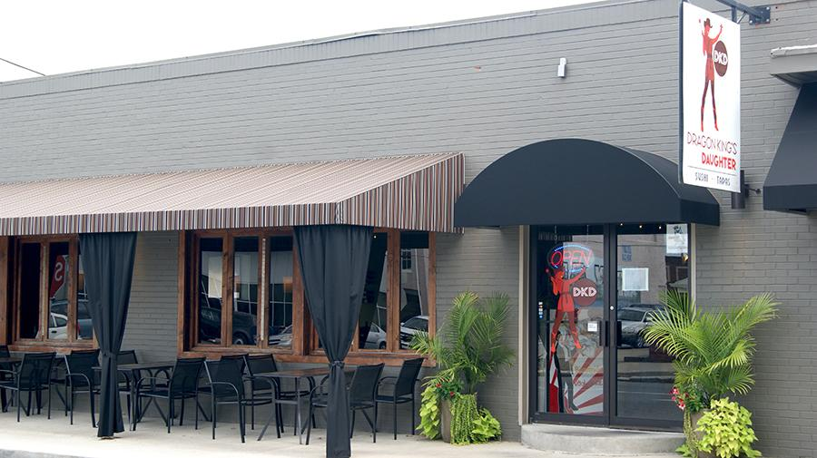 Dragon King's Daughter, at 202 E. Elm Street in downtown New Albany