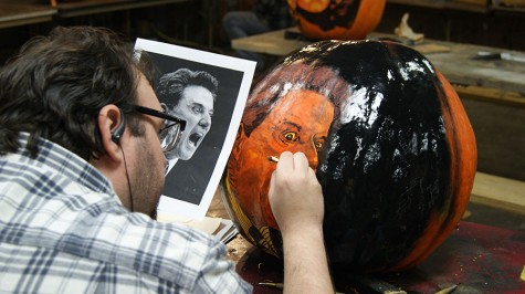 Behind the scenes of the Jack-O-Lantern Spectacular