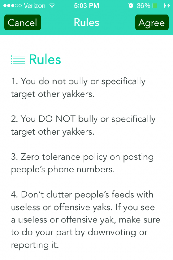 YIK YAK app lets students anonymously yap