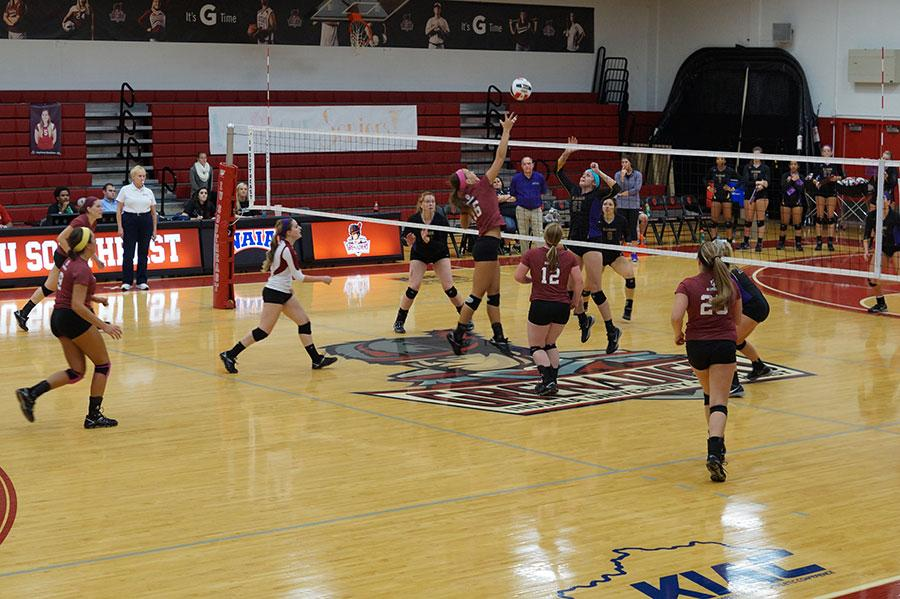 %0AJunior+outside+hitter%2C+Katie+Fischer+attempts+to+spike+the+ball+on+the+St.+Catharine+front+line.++++%0A%0A