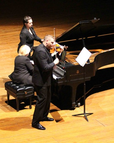 Classically trained duo leaves impression