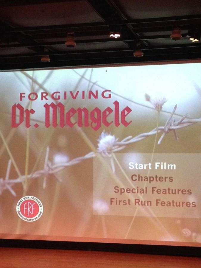 Forgiving Dr. Mengele documentary shown in Ogle Center