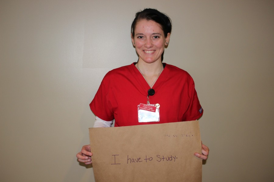 Rebecca Lawson, nursing junior
