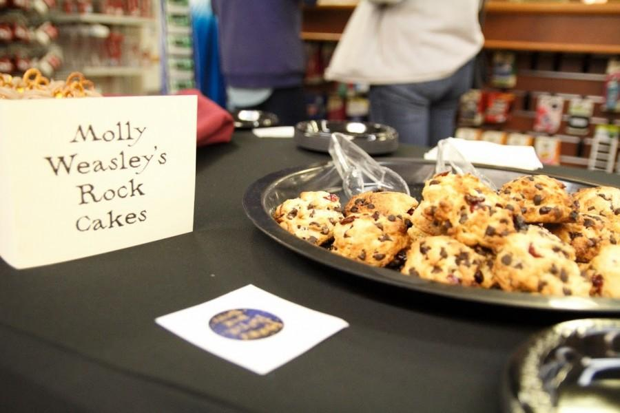 Molly Weasley's Rock Cakes were available for attendees to snack on.