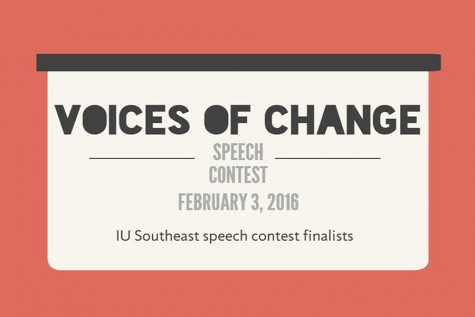 Students compete in Voices of Change Speech Contest