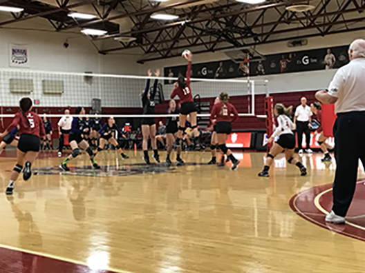 IUS volleyball falls to Asbury