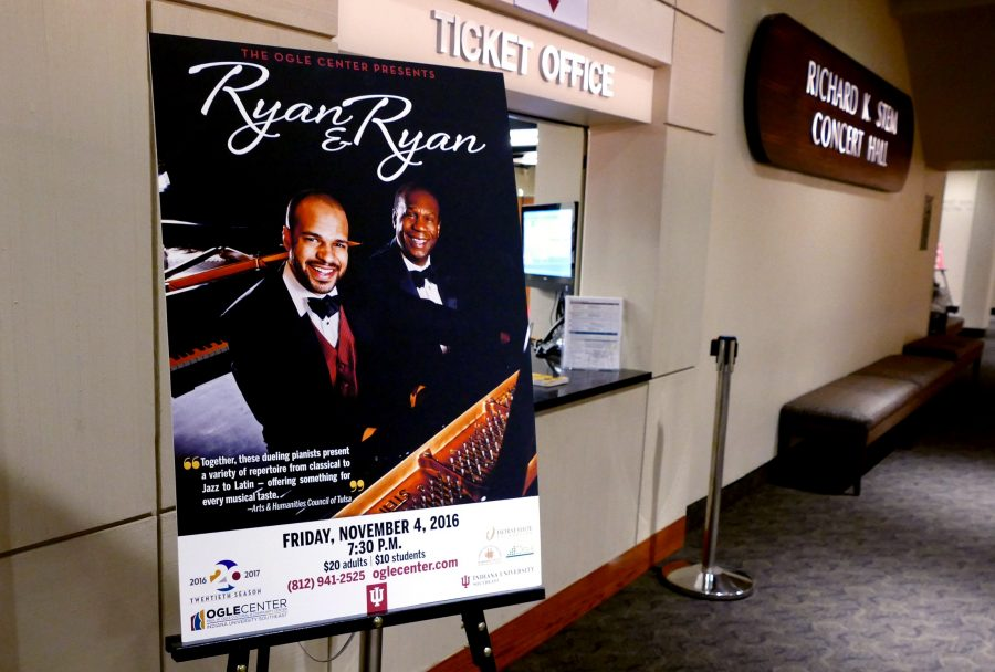 Ryan & Ryan played in Stem Hall in the Ogle Center on Friday, Nov. 4 at 7:30 p.m.