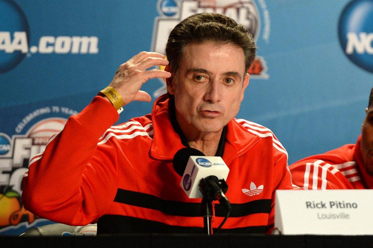 Rick Pitino, head coach of the Louisville Cardinal men's basketball team. | Creative Commons