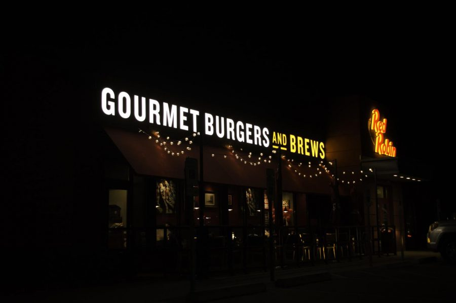 "Head over to the nearest Red Robin. Sign up for the rewards program ahead of time because members can get 50 percent off any gourmet burger with the purchase of another burger on Valentine's Day.   ""Be sure to come on out because there's going to be a great turnout and a possibility for more deals if you're a member of the Red Robin rewards,"" Jake Dabblett, Yum! Restaurant manager, said."