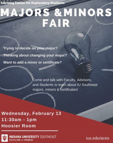 IU Southeast holds Majors and Minors Fair