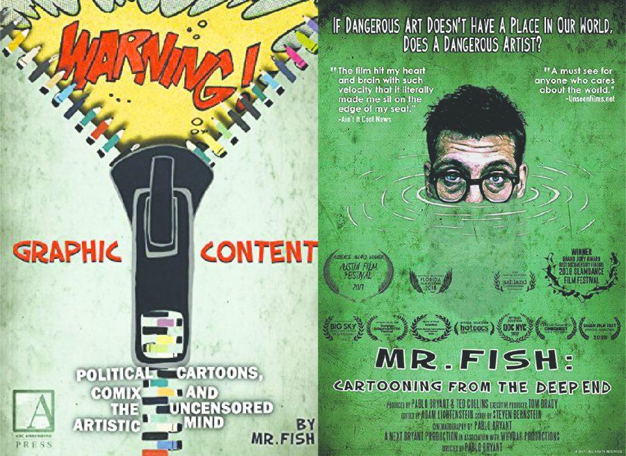 Political cartoonist Mr. Fish coming to IUS