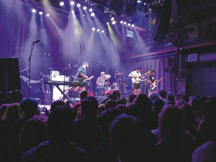 California pop punk group Mom Jeans rocks the Mercury Ballroom in Louisville. The band opened for Hobo Johnson on Wednesday, Nov. 20, 2019 to a sold-out audience.