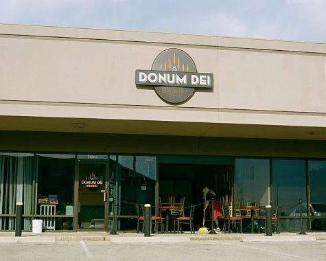 Donum Dei, a brewery located in New Albany, has been using its facility to make hand sanitizer for the Floyd County community.