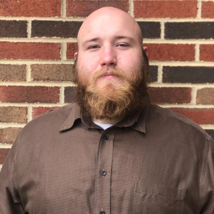 Charles Lauffer, an IUS senior majoring in theater.