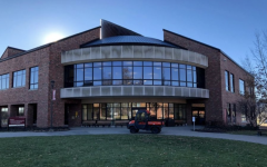 The exterior of the IUS library. Photo by John Clere.