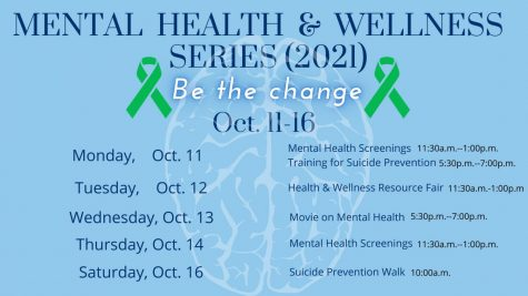 Mental Health Awareness events pushed to October